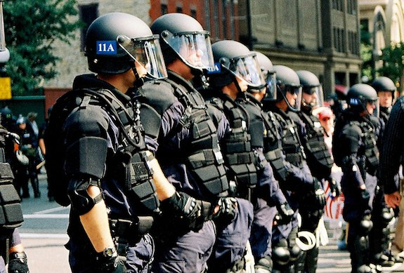 Class Warfare Police Protests Picture