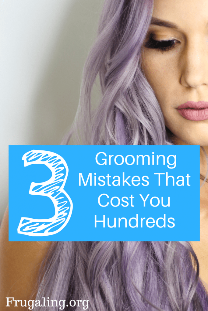 3 grooming mistakes I was making for years and how I'm saving hundreds of dollars by changing my brand identification.
