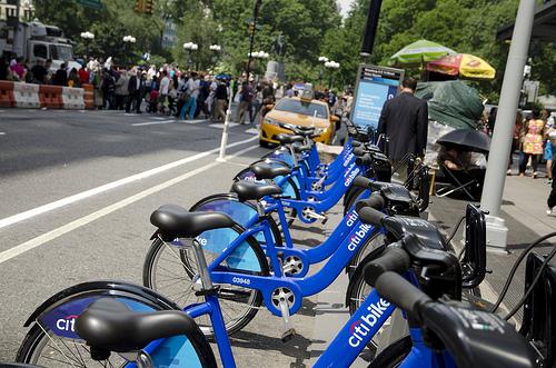Citibike Bikesharing Rental Rent
