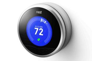 Nest Thermostat Smart Home Appliances