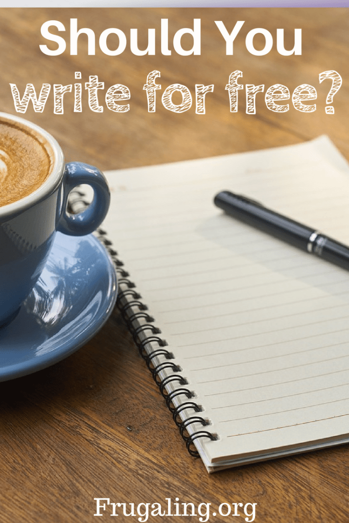 Should You Write For Free