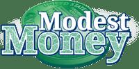 Modest Money Logo Financial Site