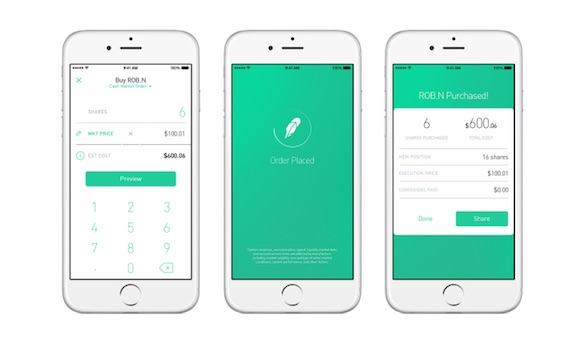 Robinhood iOS App
