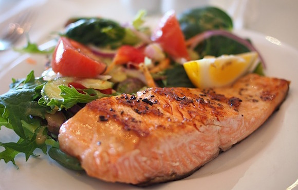 Food Budget Meals Salmon