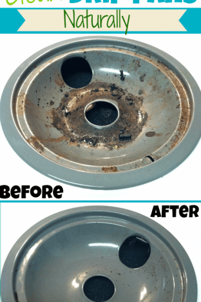 How to Clean Drip Pans Naturally
