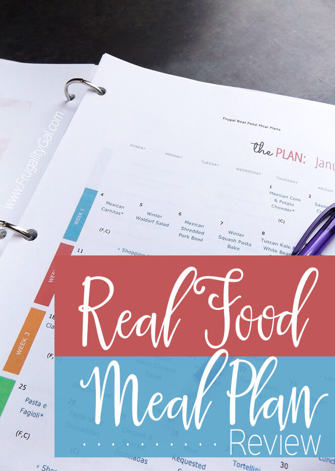 Frugal Living : Eating healthy foods on a budget using a frugal real food meal plan.