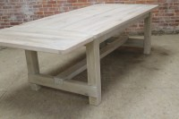 Farmhouse Table DIY Plans - Frugal Living for Life