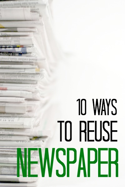 10 Ways To Reuse Newspaper  Frugal Living Nw