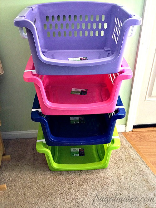 Stackable Laundry Baskets Fascinating Home Organization Plastic Laundry Baskets Are Our Friends