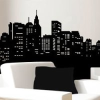 skyline wall decal Archives  THE FRUGAL MATERIALIST THE ...