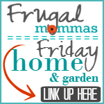 Frugal Friday Linkup