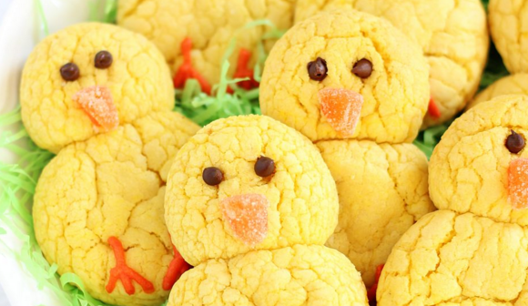 Frugal Friday - chick cookies