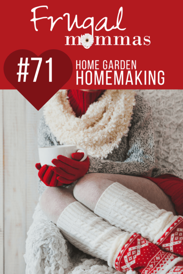 home garden homemaking linky