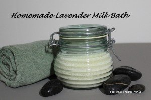 Homemade Milk Bath
