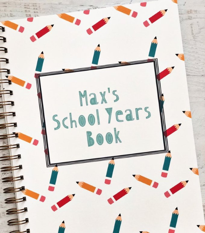 Back to School Keepsakes -  School Memory Book