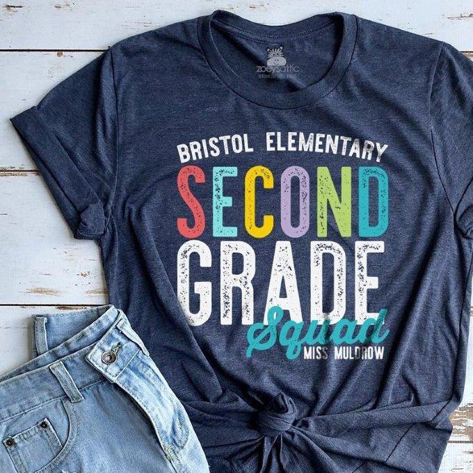 Personalized Teacher Team Shirt