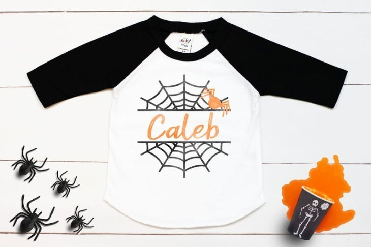 Spider Web Personalized Shirt