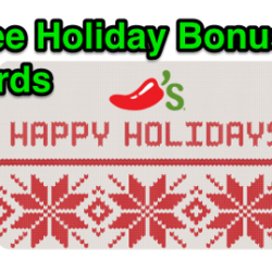 Holiday Gift Card Bonuses from Restaurants and Retailers