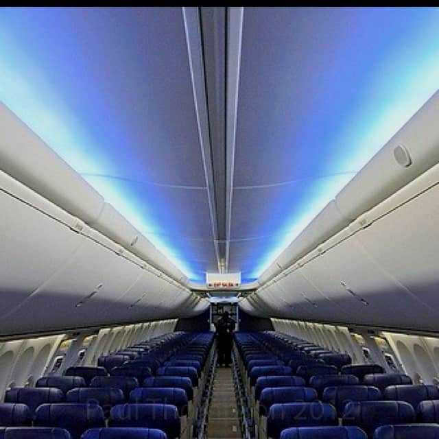Southwest Boeing Seating Interior