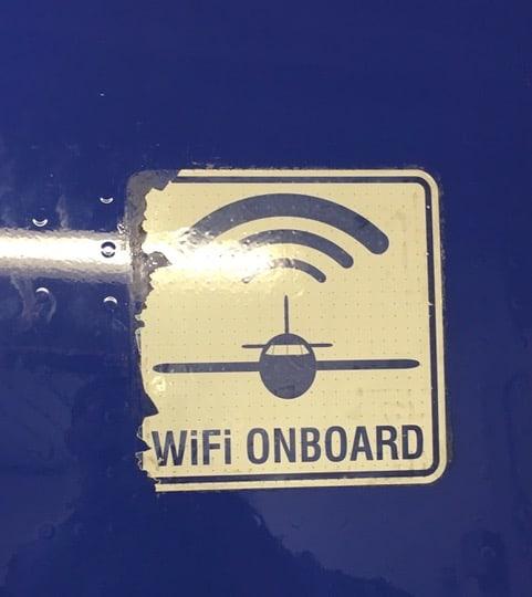 Southwest WiFi Onboard