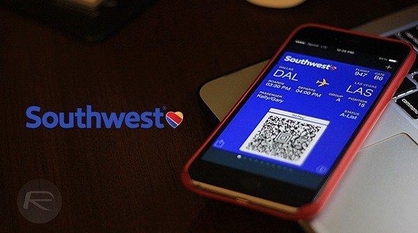 Southwest iPhone Wallet App