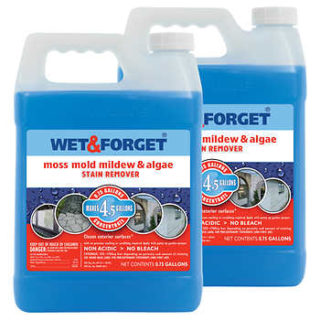 Wet and Forget for Your Springtime Easy Mildew Prevention