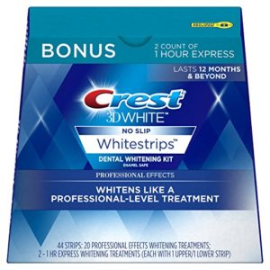 22-Treatment Crest 3D White Professional Effects Whitestrips Kit