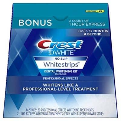 Crest 3D White Professional Effects Whitestrips Whitening Strips Kit