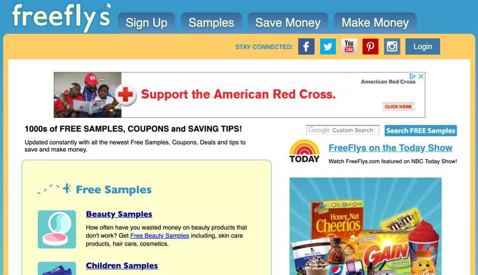 Freeflys Free Food Samples by Mail Free Shipping Frugal Reality