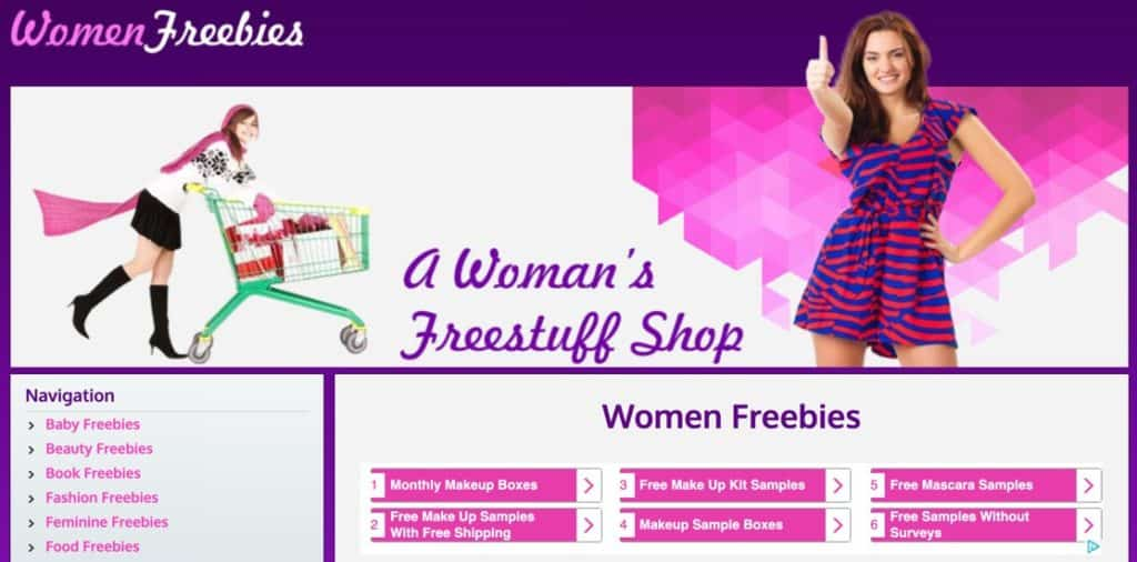 Women Freebies Free Samples For Men Frugal Reality