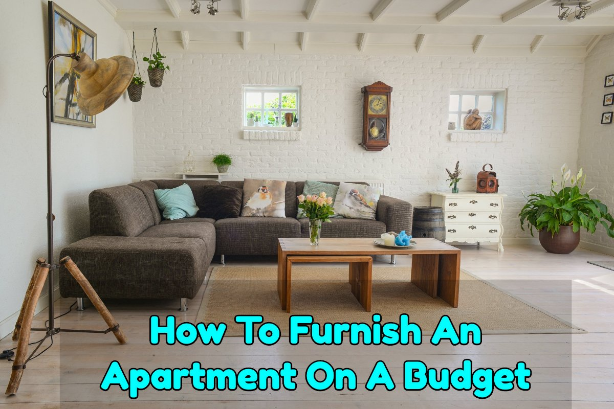 Furnish an apartment on a budget - Frugal Reality