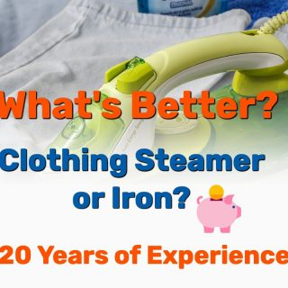 Garment Steamer or Iron: Which is Better? (20 Years of Personal Experience)