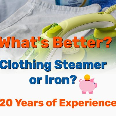 steamer or iron - Frugal Reality