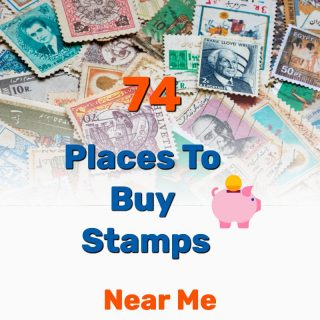 Where to Buy Stamps Near Me: 74 Places – Buy Bulk & Online
