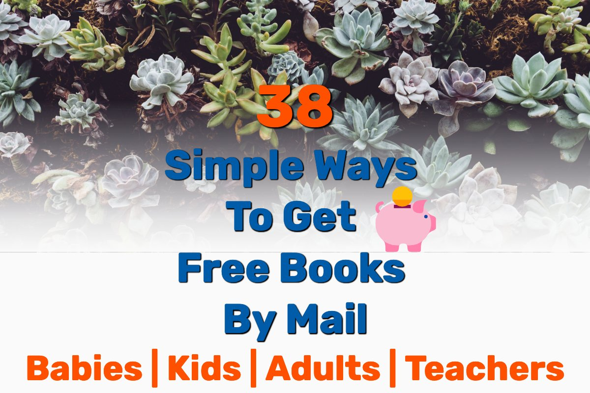 Free books by mail - Frugal Reality