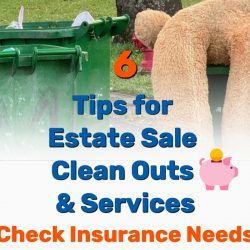 6 HELPFUL Tips for Estate Sale Clean Outs & Services
