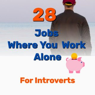 28 Jobs Where You Work Alone [for INTROVERTS] – Home or Outside)