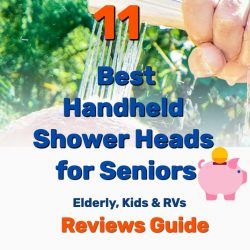 11 Best Handheld Shower Heads for Seniors & More (UPDATED Reviews)