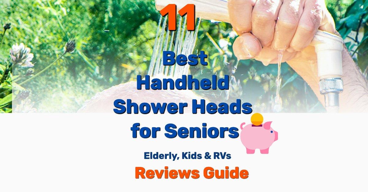 Best Handheld Shower Heads for Seniors - Frugal Reality
