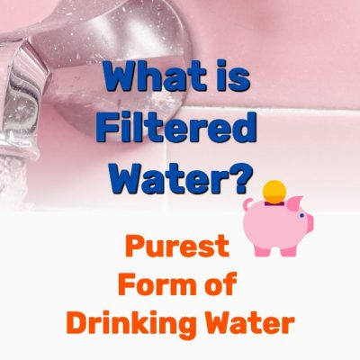 what is filtered water - Frugal Reality