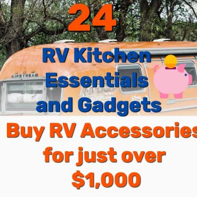 RV kitchen essentials - Frugal Reality
