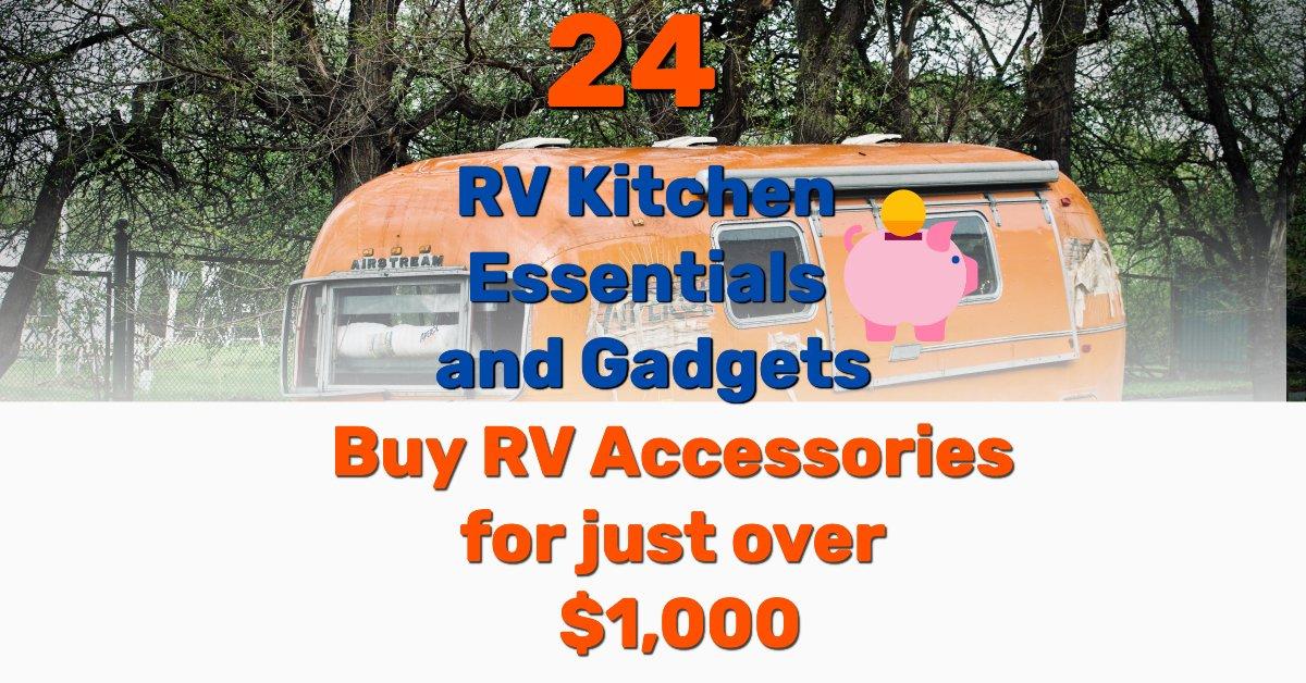 RV kitchen essentials - Frugal Reality