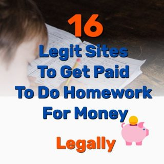 16 Legit Sites To Get Paid To Do Homework For Money (Legally)