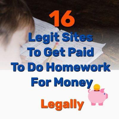 Get paid to do homework - Frugal Reality