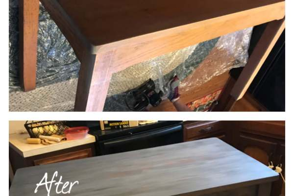 Sand and Refinishing Table