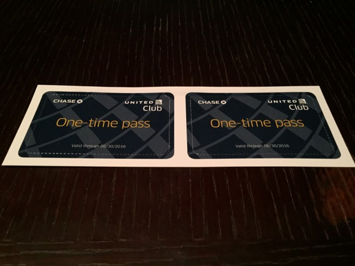 United Club Pass Giveaway