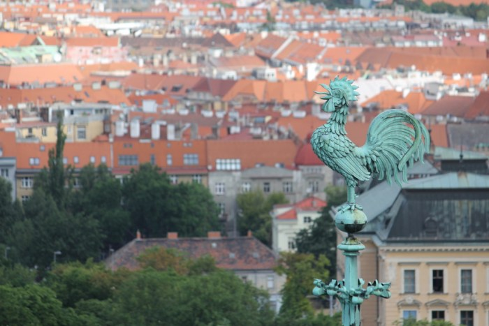 Prague from St. Vitus Cathedral