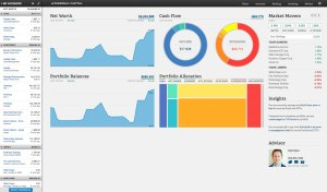 Personal Capital's dashboard is clean and intuitive. - Tracking Expenses