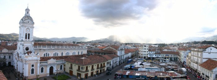 Nestled in the Andes, Cuenca