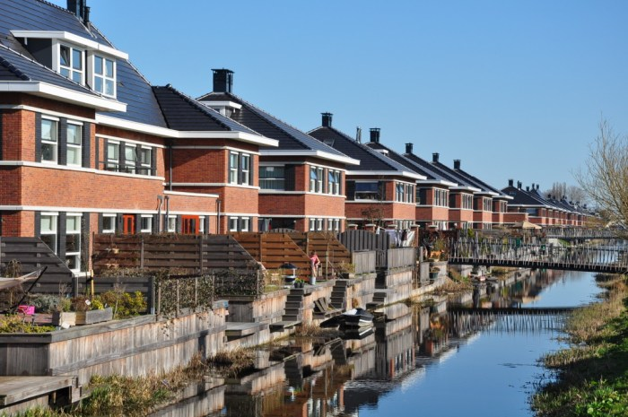 A development in The Hague, Netherlands